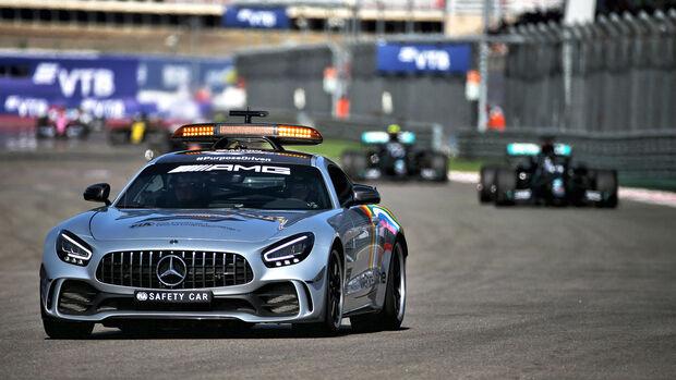 Safety-Car - GP Russland - Sotschi - Formel 1 - 2020