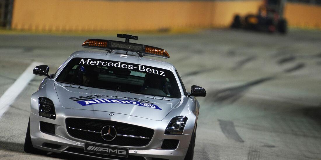 Safety-Car - GP Singapur 2012