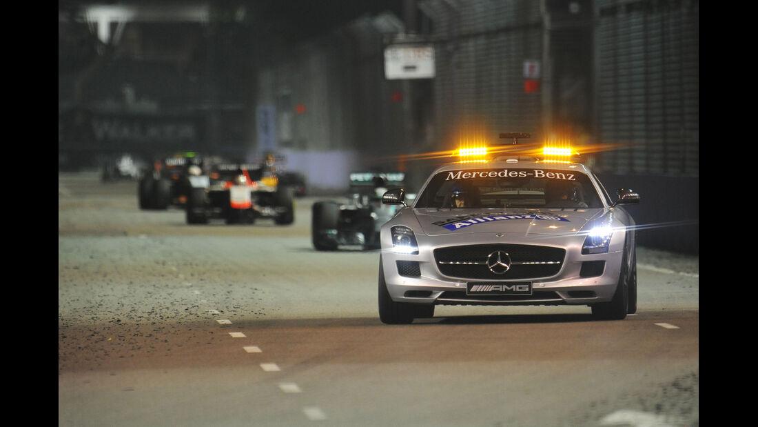 Safety-Car - GP Singapur 2014