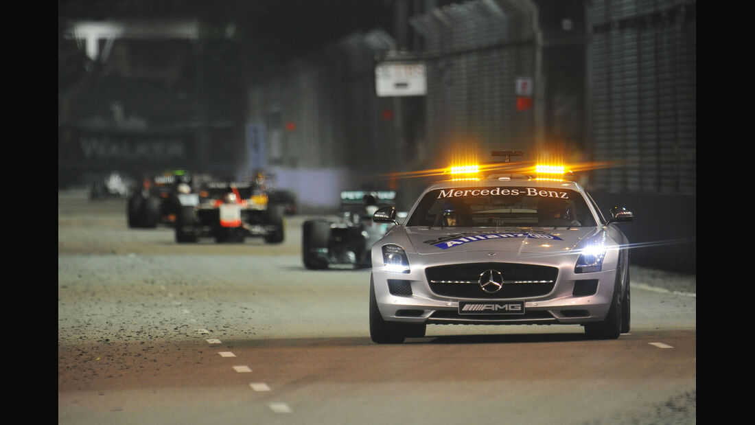 Safety-Car - GP Singapur 2014