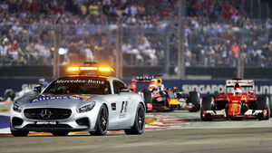 Safety-Car - GP Singapur 2015