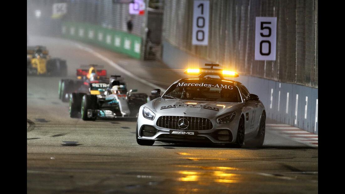 Safety-Car - GP Singapur 2017