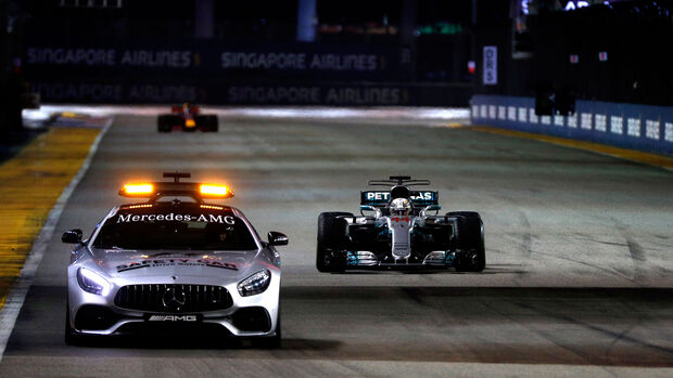 Safety Car - GP Singapur 2017 - Rennen