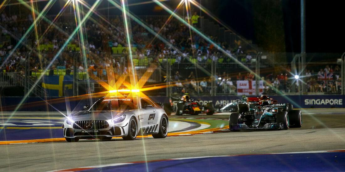 Safety-Car - GP Singapur 2018