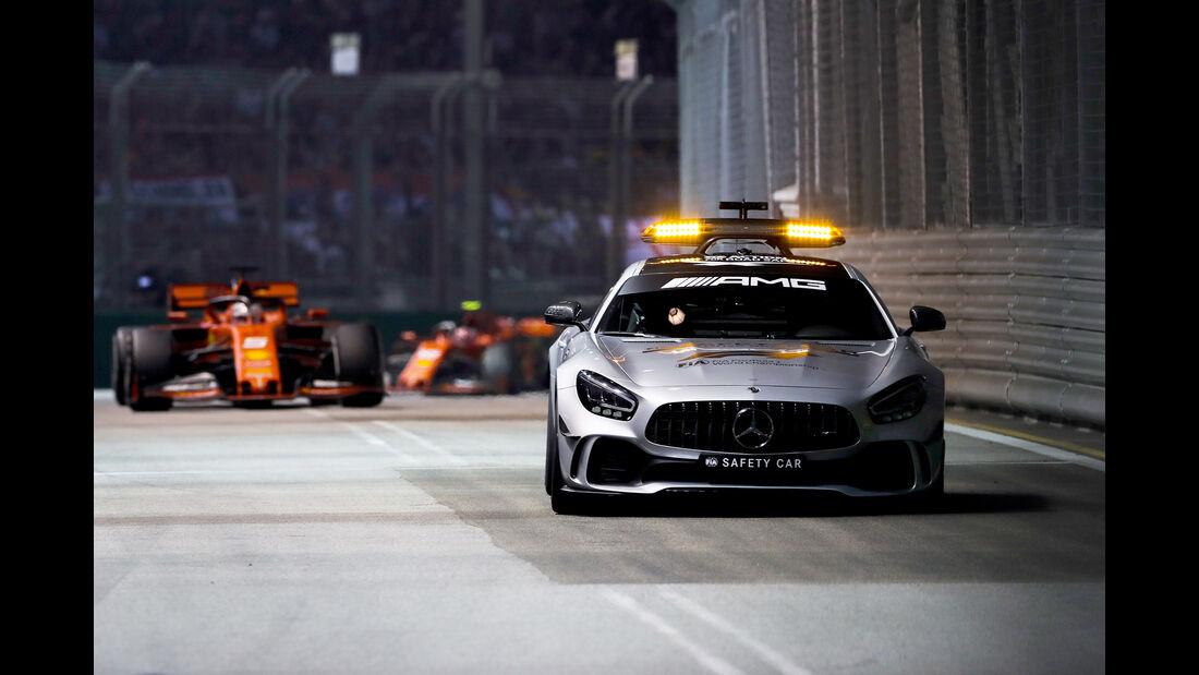 Safety-Car - GP Singapur 2019