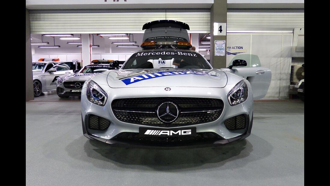Safety-Car - GP Singapur - Formel 1 - 16. September 2015