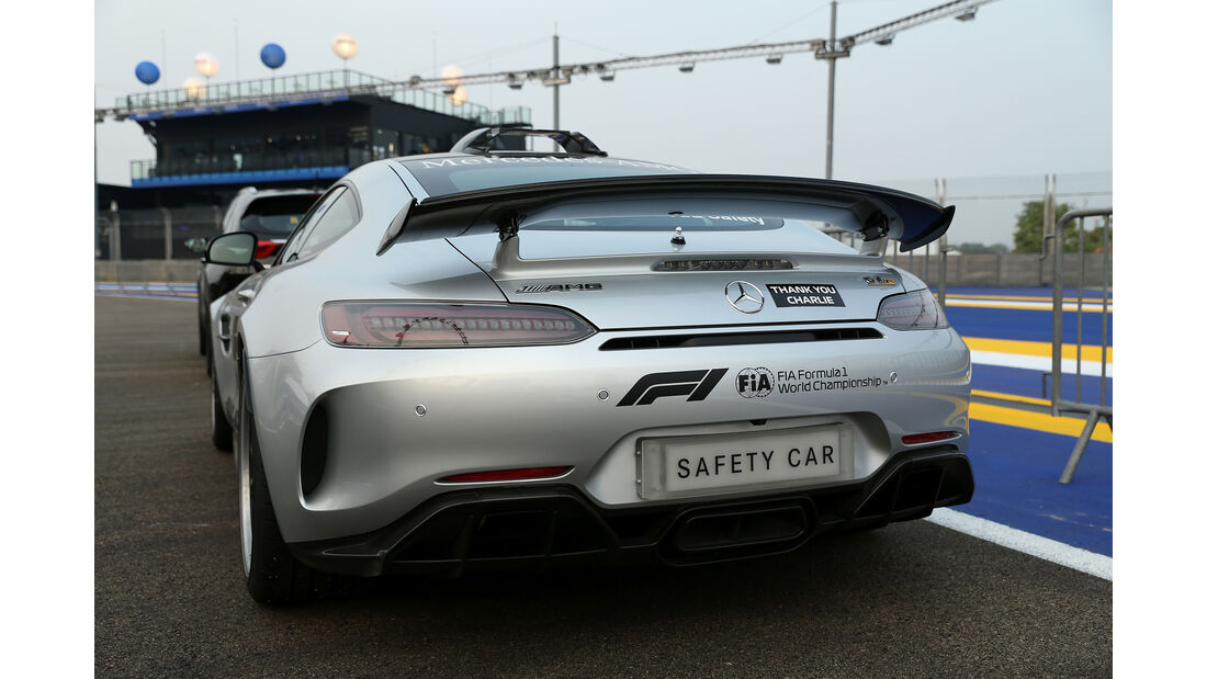 Safety-Car - GP Singapur - Formel 1 - 18. September 2019