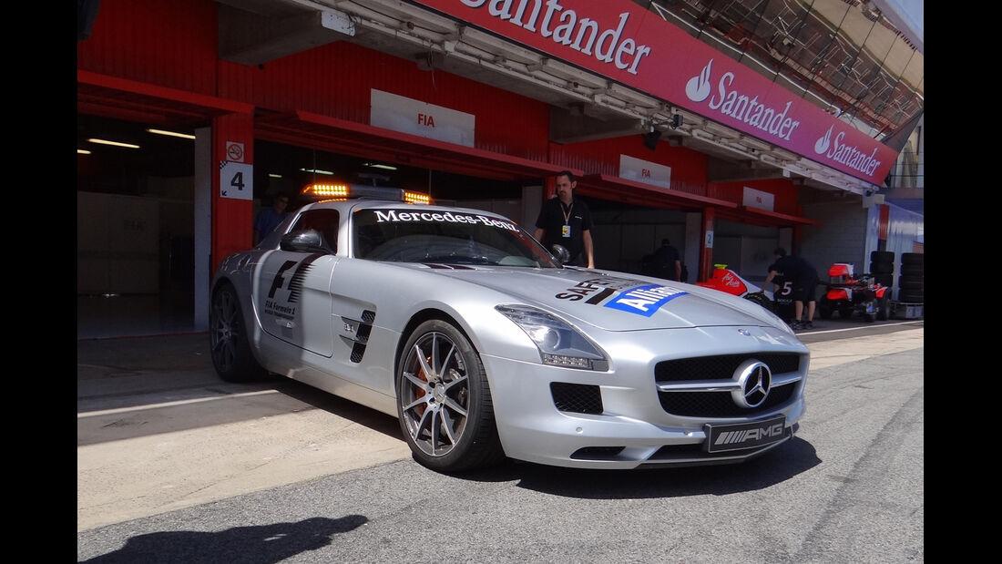 Safety-Car - GP Spanien - 10. Mai 2012