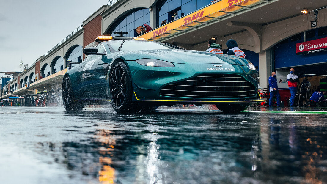 Safety-Car - GP Türkei - Istanbul - Formel 1 - 9. Oktober 2021