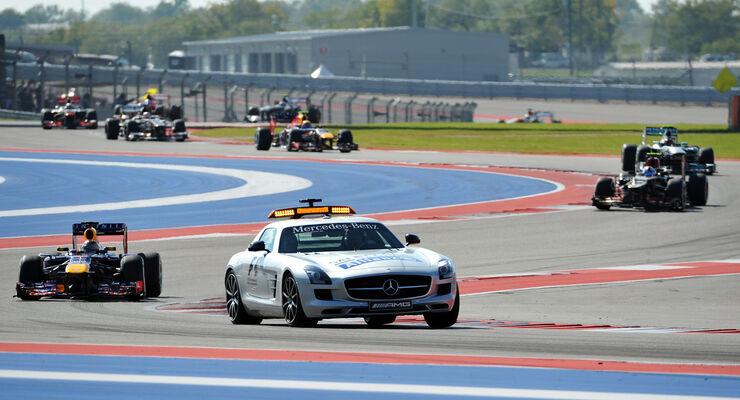 Safety-Car - GP USA 2013