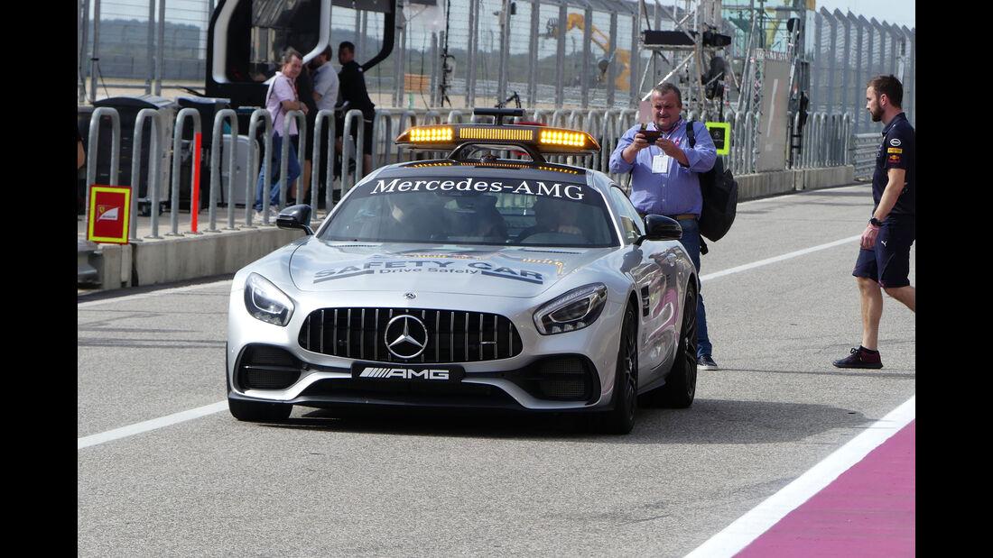 Safety Car - GP USA - Austin - Formel 1 - Donnerstag - 19.10.2017