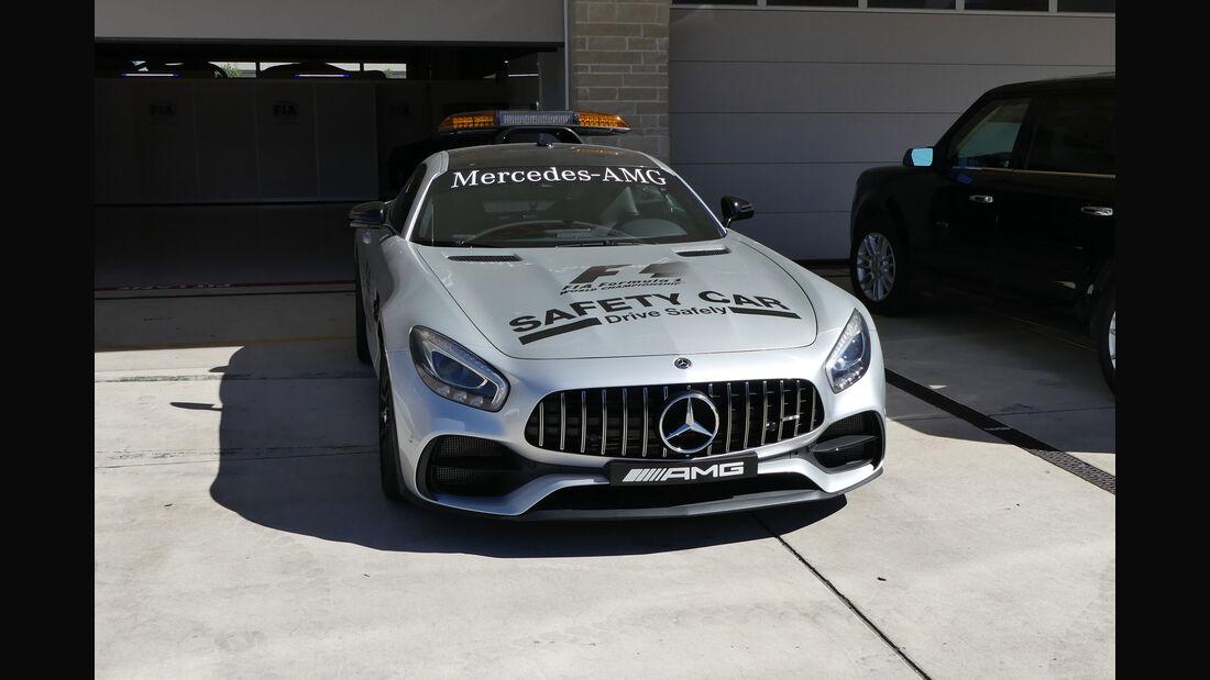 Safety Car - GP USA - Austin - Formel 1 - Mittwoch - 18.10.2017