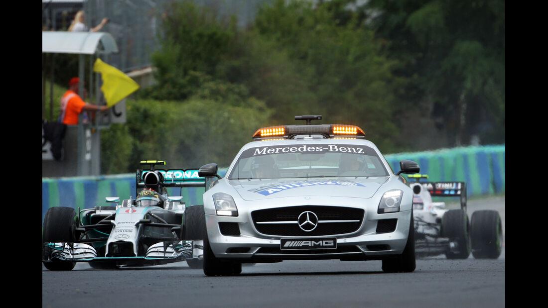 Safety-Car - GP Ungarn 2014