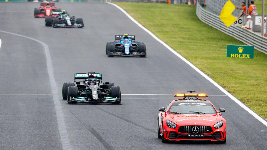 Safety Car - GP Ungarn 2021 - Budapest - Rennen