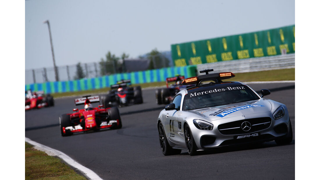 Safety Car - GP Ungarn - Budapest - Rennen - Sonntag - 26.7.2015