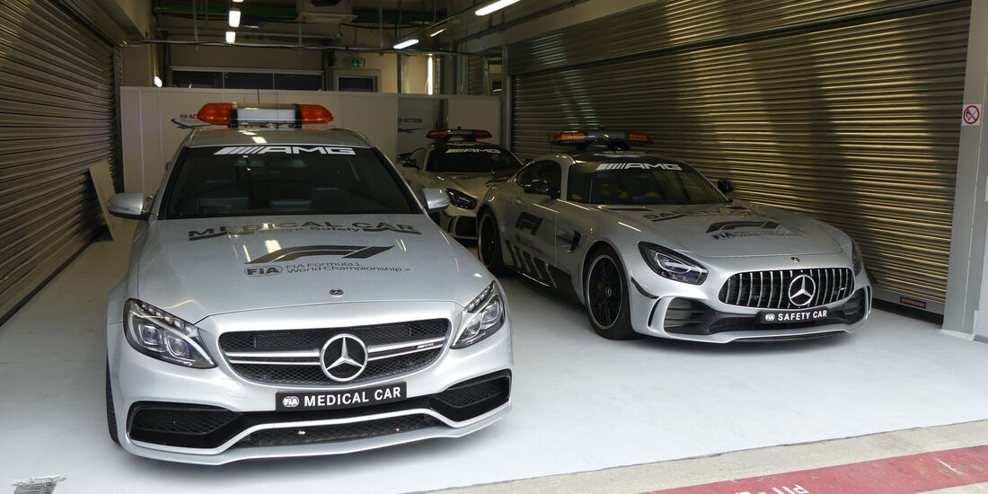 Safety Car - Medical Car - GP Russland - Sotschi - Formel 1 - Mittwoch - 26.09.2018