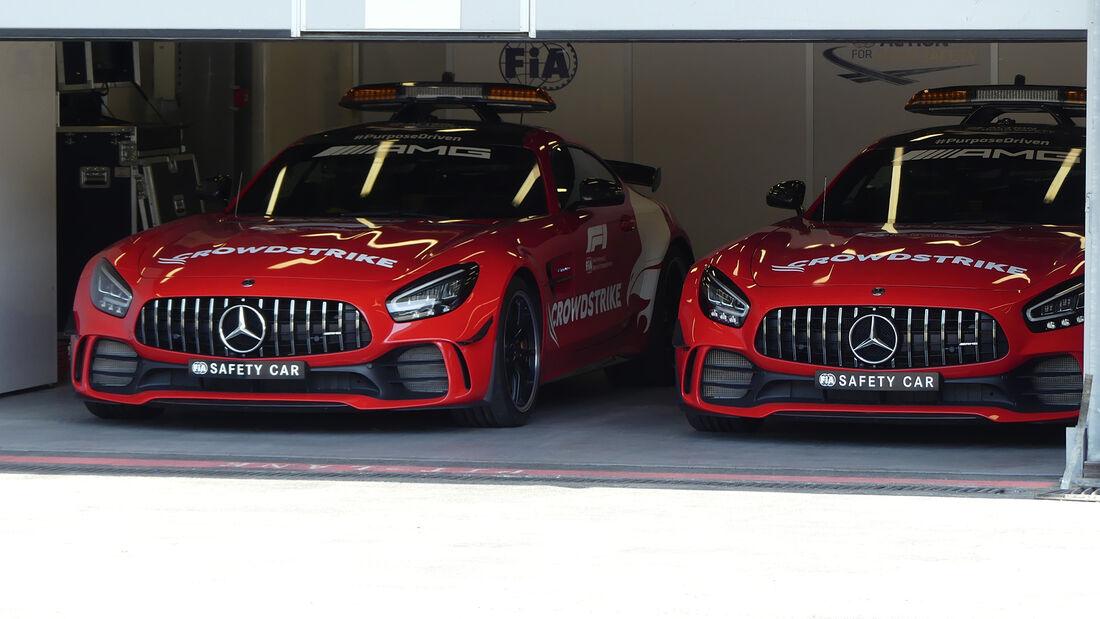 Safety Car - Mercedes-AMG GT R - Formel 1 - GP Aserbaidschan - Baku - Donnerstag - 3.6.2021