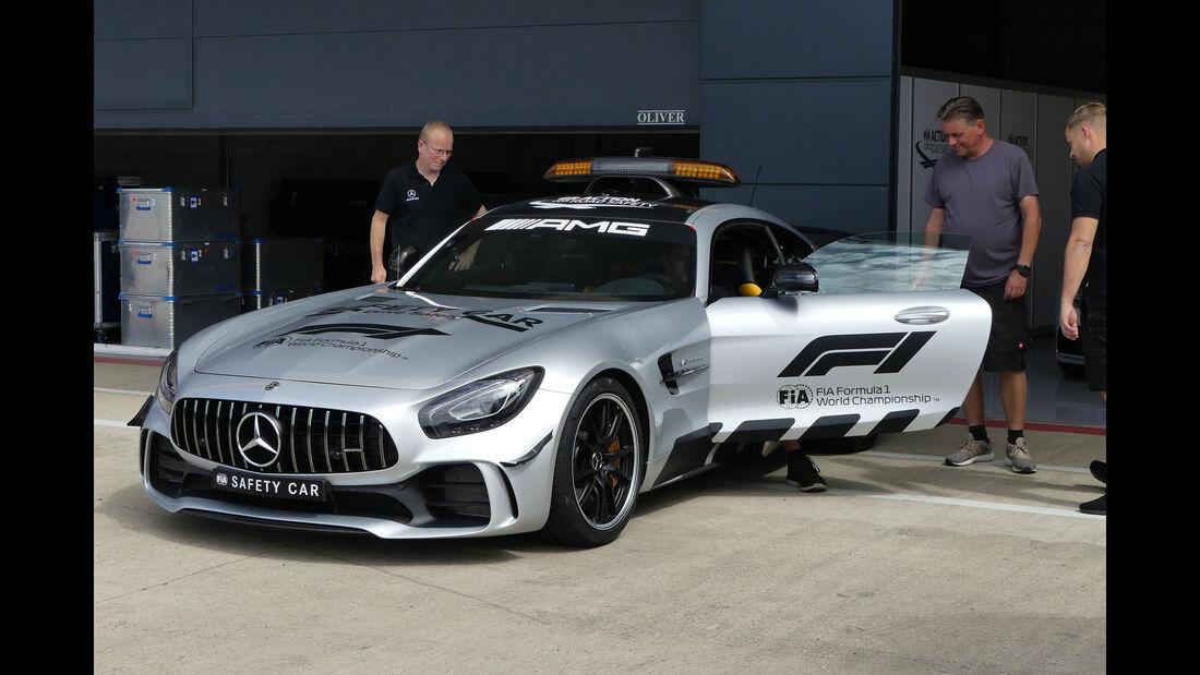 Safety Car - Mercedes-AMG GT R - GP England - Silverstone - Formel 1 - Mittwoch - 4.7.2018