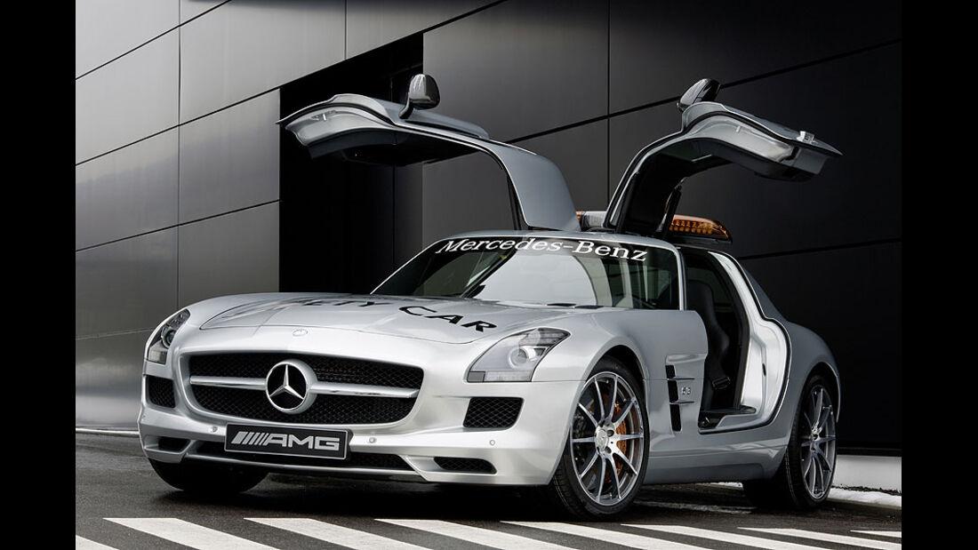 Safety Car Mercedes SLS AMG