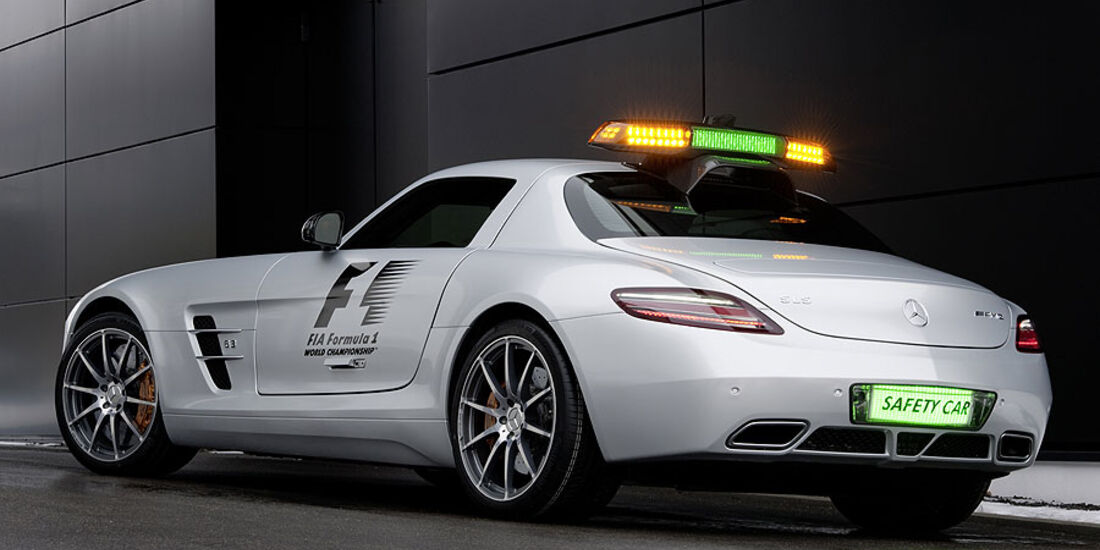 Safety Car Mercedes SLS AMG