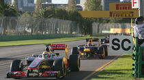 Safety Car Phase GP Australien 2012