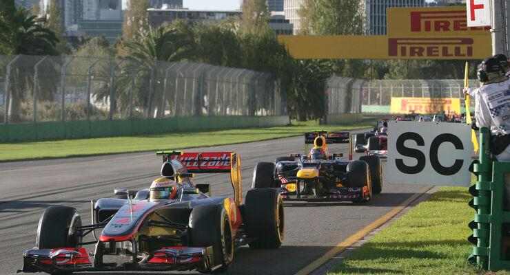 Safety Car Phase GP Australien 2012