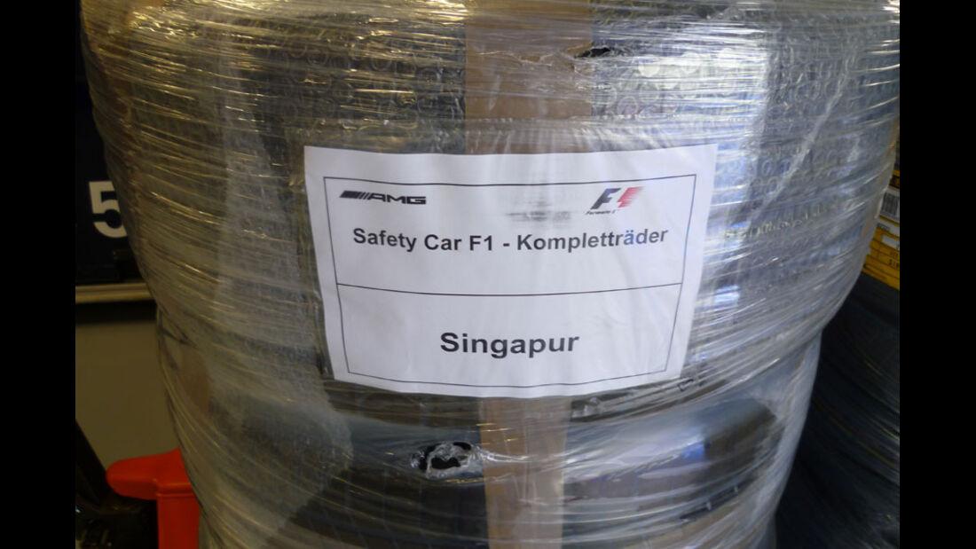 Safety-Car-Reifen - GP Singapur - 22. September 2011