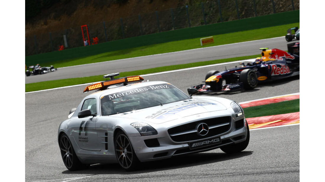 Safety-Car Rennen GP Belgien 2011