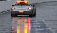 Safety Car im Regen