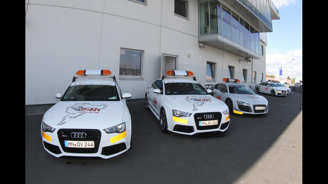 Safety-Cars 24h Nürburgring 2012