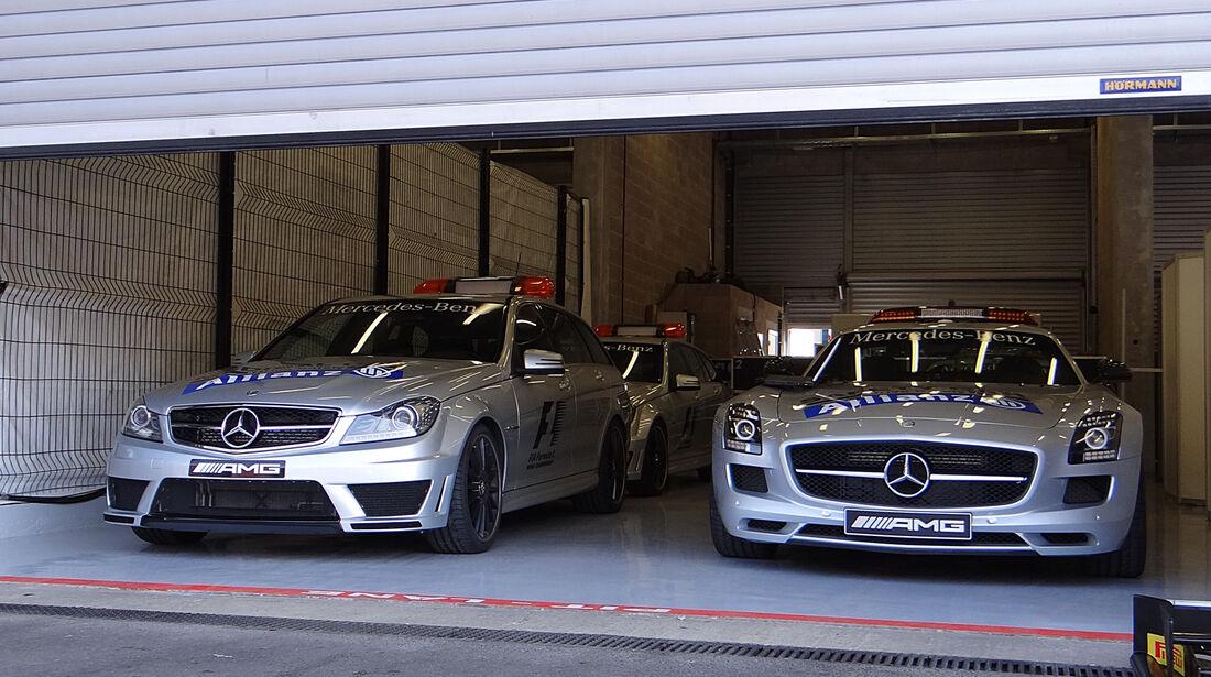 Safety-Cars - Formel 1 - GP Belgien - Spa-Francorchamps - 22. August 2013