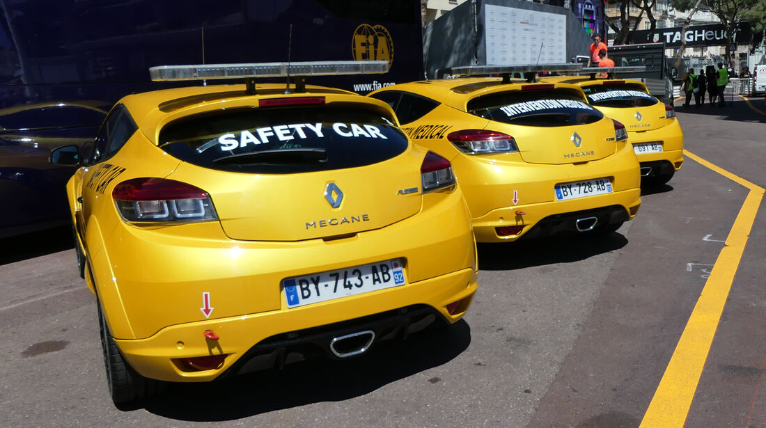 Safety-Cars - Formel 1 - GP Monaco - 24. Mai 2016