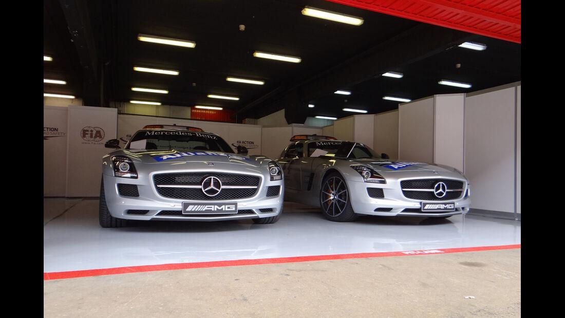 Safety-Cars - Formel 1 - GP Spanien - 9. Mai 2013