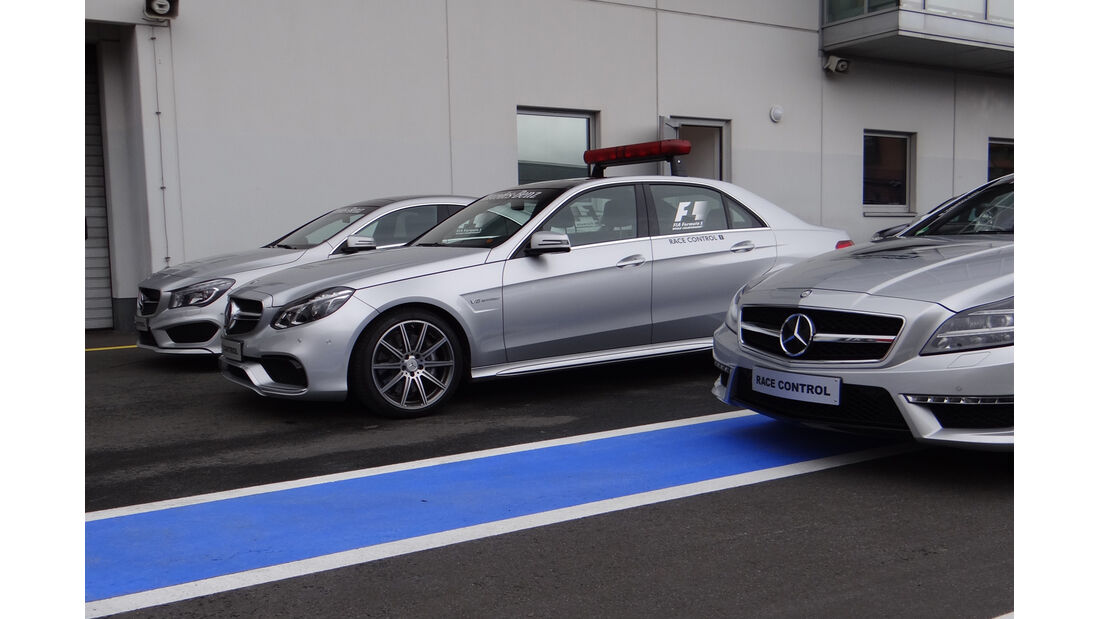 Safety-Cars - GP Deutschland - Nürburgring - 3. Juli 2013