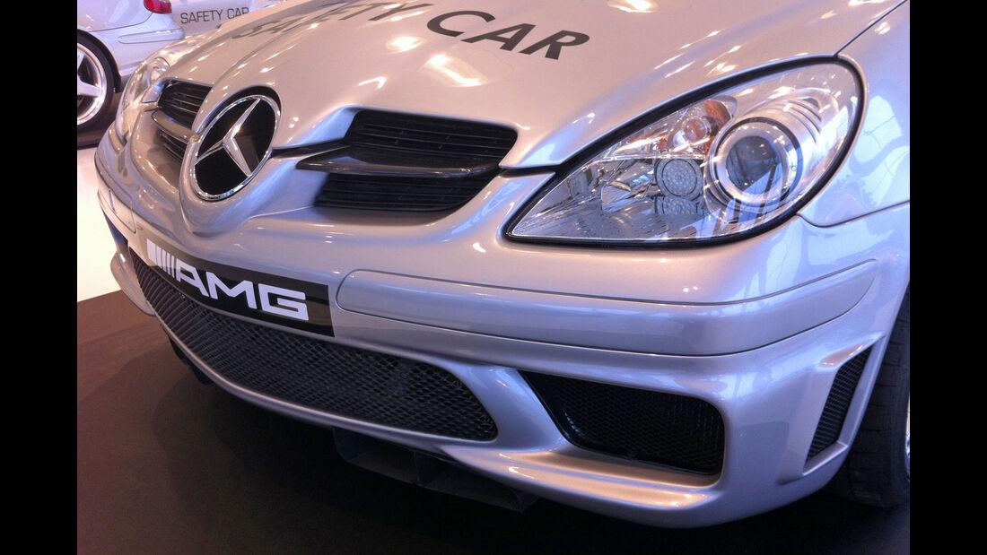 Safety-Cars-Sonderausstellung im Mercedes-Benz-Museum