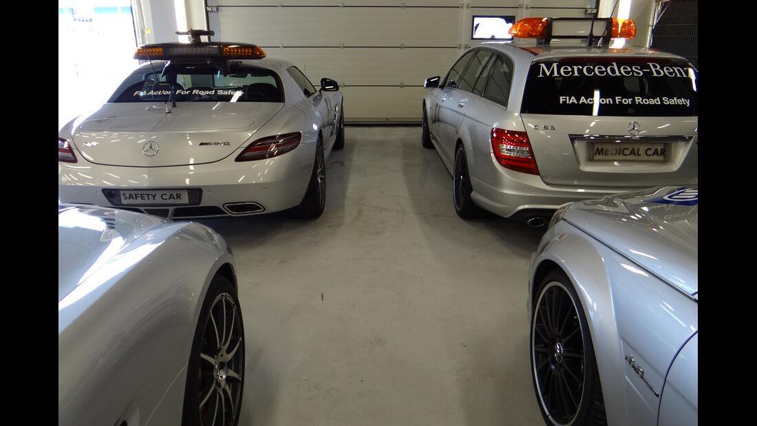 Safety- & Medical-Car - Formel 1 - GP England - Silverstone - 5. Juli 2012