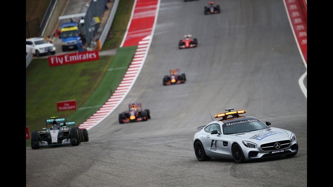 Safety-car - GP USA 2015