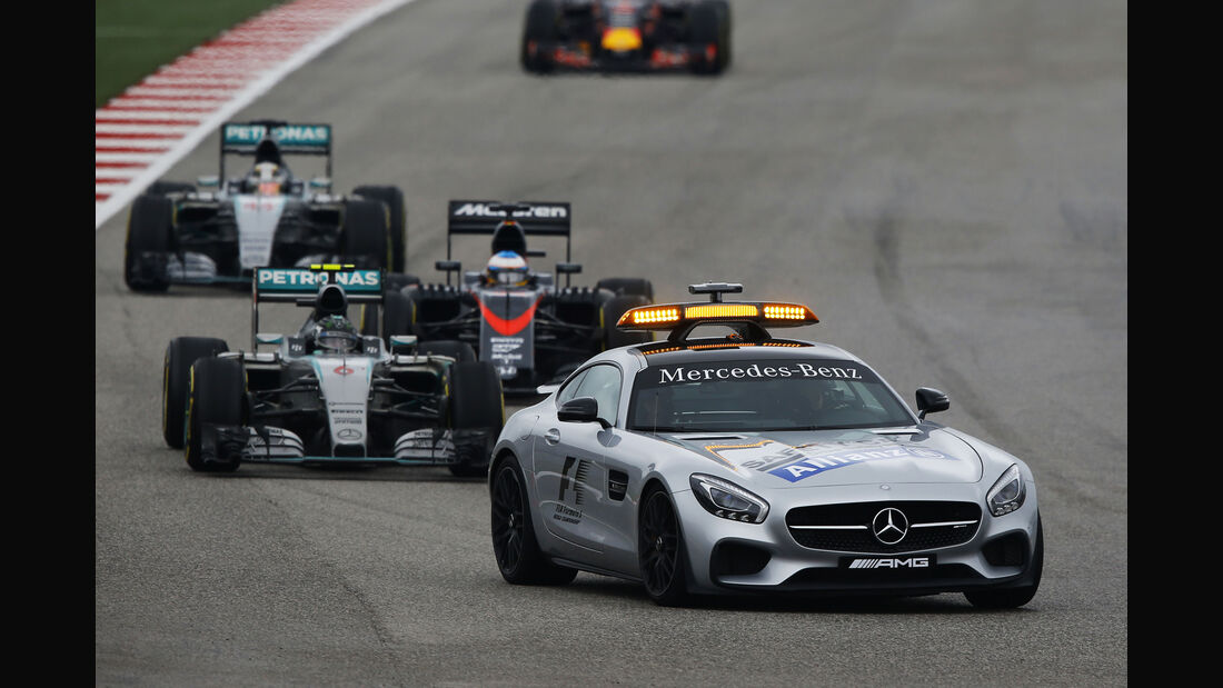 Safety-car - GP USA 2015