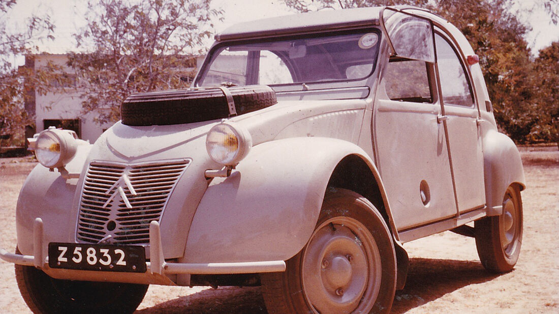 Sahara Ente 2CV Citroen