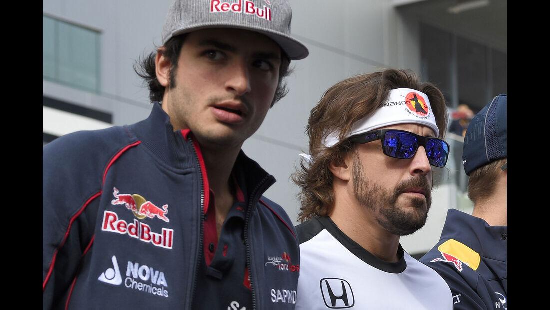 Sainz & Alonso - GP Russland 2015