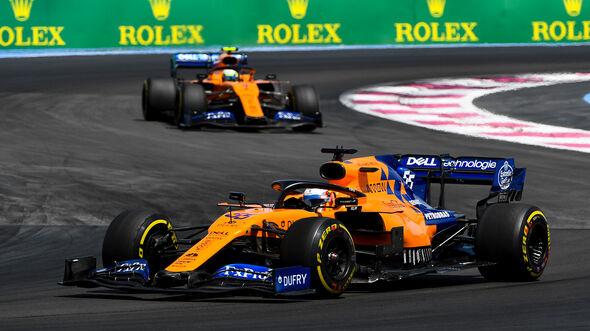 Sainz & Norris - GP Frankreich 2019
