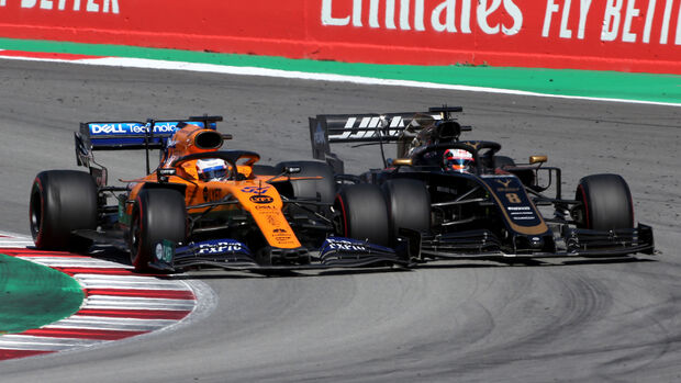 Sainz vs. Grosjean - Formel 1 - GP Spanien 2019