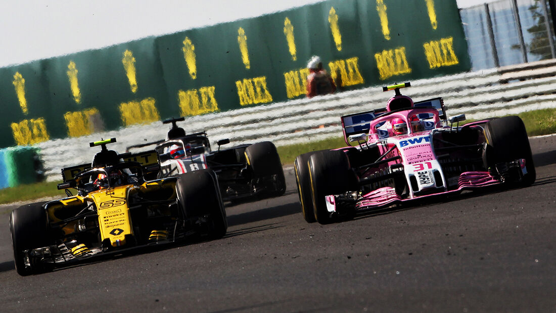 Sainz vs. Ocon - GP Ungarn 2018