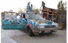 Salvation Mountain Cars, Slab City, East Jesus, Toyota Tercel (L30)