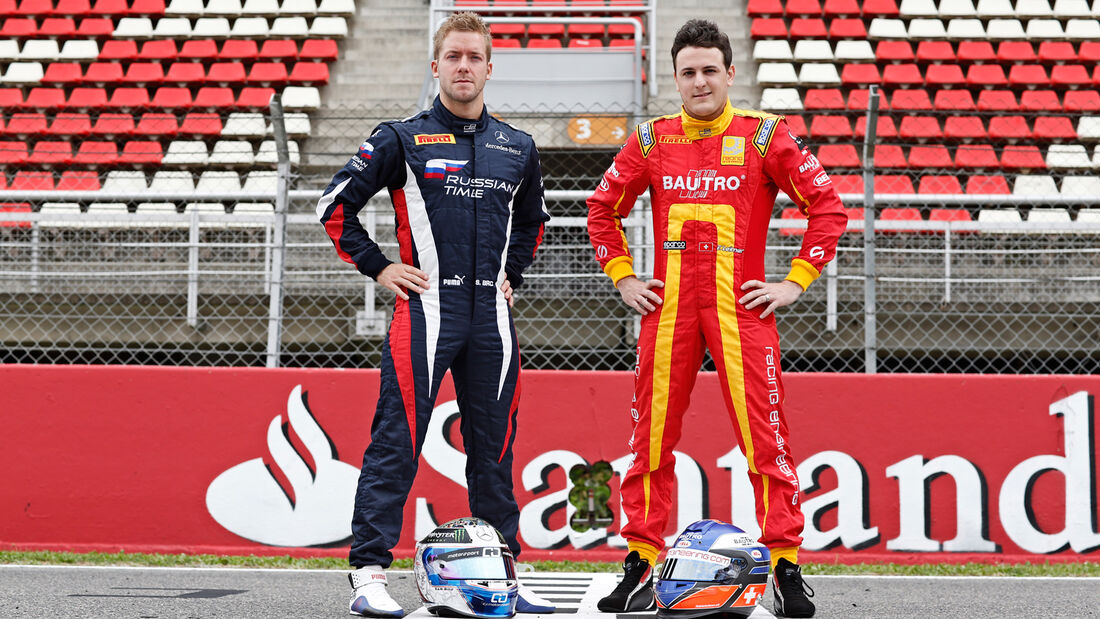 Sam Bird & Fabio Leimer - GP2 - 2013
