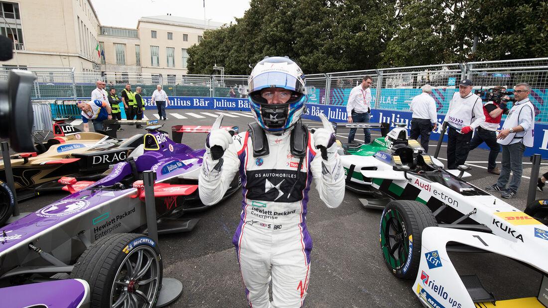 Sam Bird - Formel E - Rom - 2018