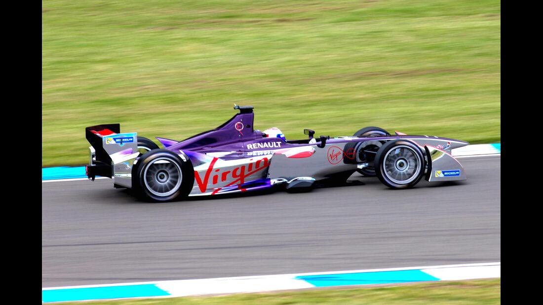 Sam Bird - Formel E-Test - Donington - 07/2014