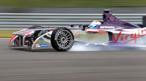 Sam Bird - Formel E-Test - Donington - 07/2014