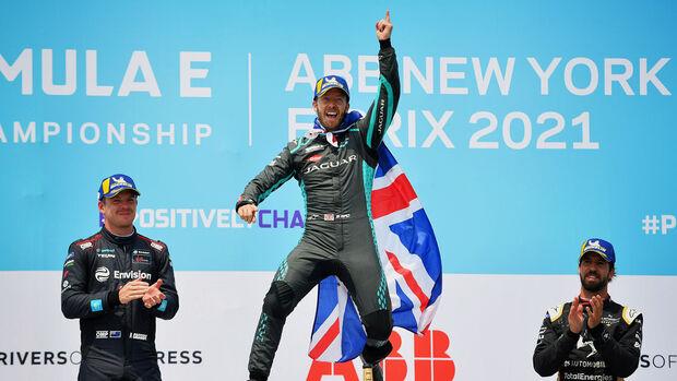 Sam Bird - Jaguar - Formel E - New York - 2021