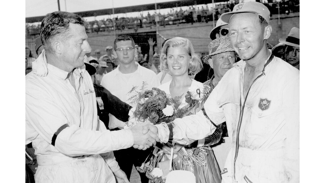 Sam Hanks - Jim Rathman - Indy 500 - 1957 - Motorsport
